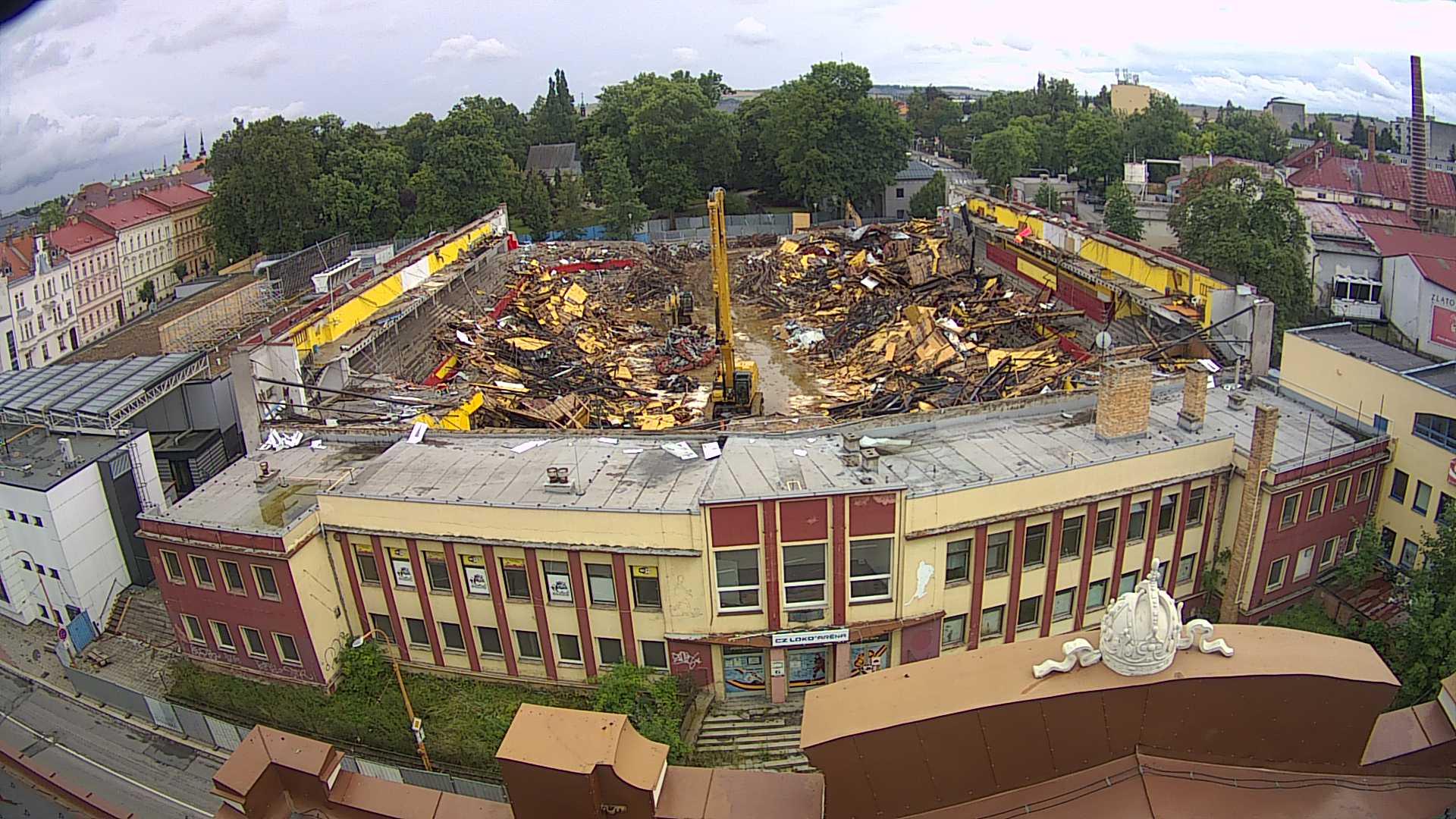 jižní kamera